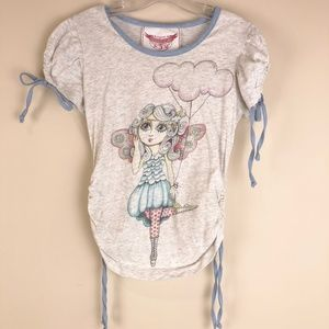 Paper Wings Matching Sets - Paper Wings Organic Fairy Flight Top Skirt Outfit